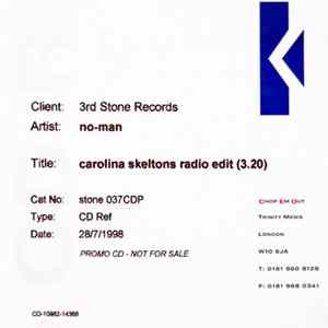 No-Man - Carolina Skeletons Radio Edit mp3 herunterladen